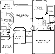 Houseplan Com by Traditional Style House Plan 3 Beds 2 00 Baths 1458 Sq Ft Plan