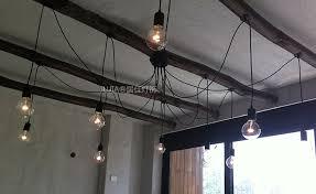 Iron Ceiling Light Big Bulb Ceiling Light Iron E27 Base 220v Big Light Edison Bulb