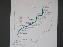 Map Of Springfield Ohio by Trail Map Ohio To Erie Trail Igotabike