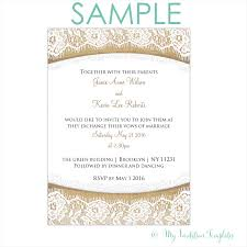 diy burlap and lace wedding invitation template free sample word
