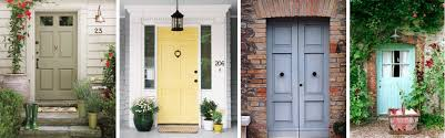 Exterior Door Colors How To Add Interest To Your Front Door Mybktouch