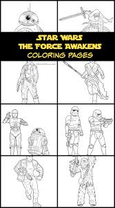 star wars the force awakens coloring pages and activities star