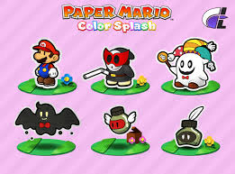 colors splash resized bowser sprites paper mario color splash by asktimeman on