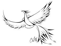 27 best phoenix tattoo stencils images on pinterest tatoos