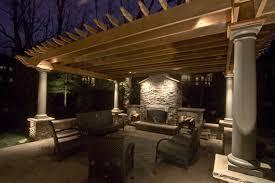 pergola design fabulous external patio lights patio light hooks