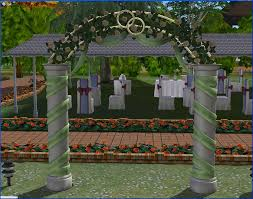 wedding arches in sims 3 sullivan wedding arch recolours