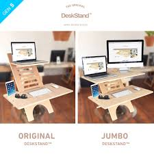 affordable sit stand desk jumbo deskstand affordable and adjustable standing desk