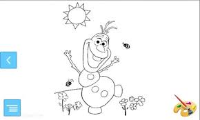 olaf coloring sven frozen disney coloring pages gems