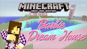 minecraft xbox barbie dream house pool party plans 3 youtube