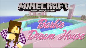 dream house blueprint minecraft xbox barbie dream house pool party plans 3 youtube