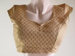 golden blouse offwhite gold brocade designer blouse is a versatile padded