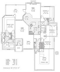 Customizable Floor Plans by Vanderbilt Iii Custom Home Floor Plan Palm Coast Fl