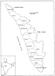 India Population Map by 5 Population And Land Use In Kerala Growing Populations