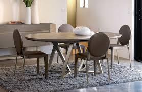 Table De Cuisine En Verre Avec Rallonge by Table Ovale Salle A Manger Table Cuisine Design Pas Cher