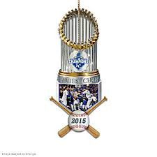 kansas city royals world series commemorative ornament collection