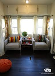 interior stunning rv remodel travel trailer remodel images about