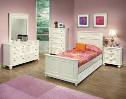 Girls Shabby Chic Bedroom Furniture Bedroom Purple Painted Bedroom With White Polished Metal 4