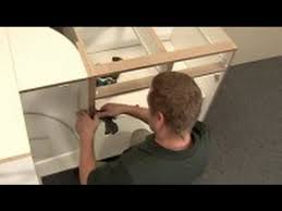 Installing Floor Cabinets How To Install Full Access Frameless Cabinets Youtube
