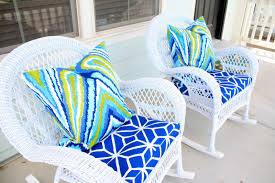 Wicker Patio Furniture Cushions Replacement - furniture interesting wicker chair cushions for inspiring outdoor