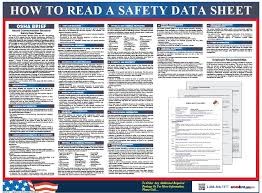 Ghs Safety Data Sheet Template Sds Poster