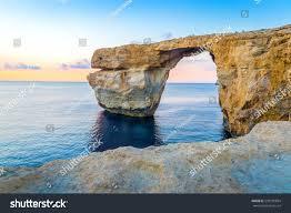 Azure Window by Beautiful View Azure Window Gozo Malta Stock Photo 520105894