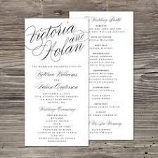 wedding program layout wedding program white wedding programmes wedding