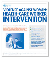 Int by Who Responding To Intimate Partner Violence And Sexual Violence