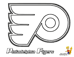 nhl team logos coloring pages getcoloringpages