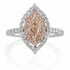 Pink Diamond Wedding Rings by Pink Diamond Engagement Rings Fancy Brown Pink Diamond 0 72ct