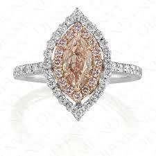 browns wedding rings pink diamond engagement rings fancy brown pink diamond 0 72ct