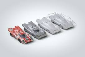 porsche 917 art porsche 917 24h le mans 1970 on behance