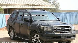 toyota land cruiser 2007 spy photos more new toyota landcruiser