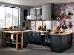 cuisine noir étourdissant cuisine noir et bois galerie et cuisine noir et bois