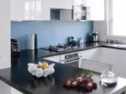cuisine bleue et blanche photo idee deco cuisine blanche et bleu par deco