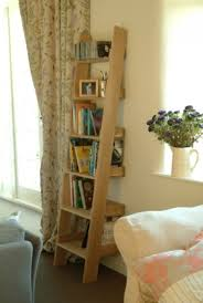 Wooden Ladder Bookcase by Oak Shelf Ladder Wooden Ladder Bookcase Grace And Grey