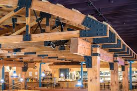 hand build architectural wood framework model house steel connections for timber frames steel gusset plates