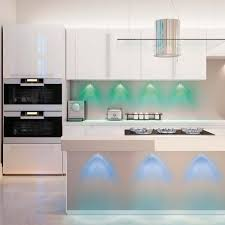 kitchen over cabinet lighting hoover multi color led accent lights with remote control 5 pack