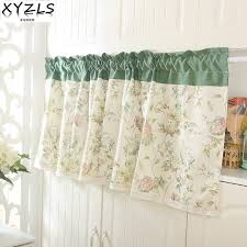 Kitchen Curtains Valance by Online Get Cheap Kitchen Curtains Shop Aliexpress Com Alibaba Group