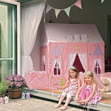 girls castle loft bed princess castle playhouse best 25 princess playhouse ideas on