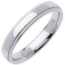what is milgrain platinum milgrain plain band 4mm 3000046 shop at wedding rings