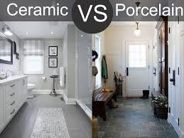 ceramic vs porcelain