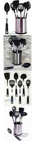 Red Kitchen Utensil Set - cooking utensils 20649 mason jar 12 piece kitchen utensil set tub