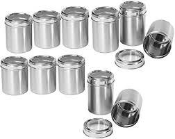 stainless steel canisters kitchen kitchen canisters stainless steel photogiraffe me