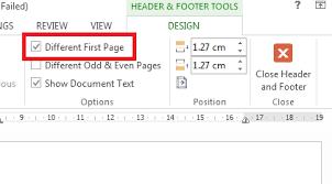 cara membuat nomor halaman yang berbeda di word 2013 cara membuat page number atau nomor halaman yang berbeda dalam satu
