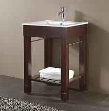 30 Inch Modern Bathroom Vanity Open Bathroom Vanities A Sleek Simple Style For A Modern Bathroom