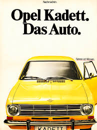 1966 opel kadett opel pokes vw and u201cdas auto u201d slogan by celebrating the kadett b