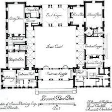 courtyard home plans southwestern house plans home design mission adobe style with