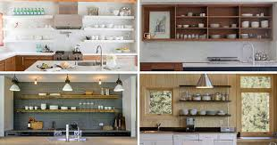 kitchen design idea 19 exles of open shelving contemporist