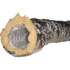 gaine pour hotte de cuisine gaine isolée dmo diam 152 mm l 10 m leroy merlin