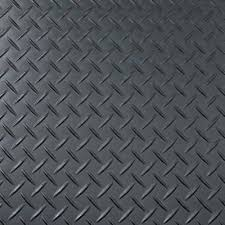 plastic tread plate flooring design in gunmetal grey harvey
